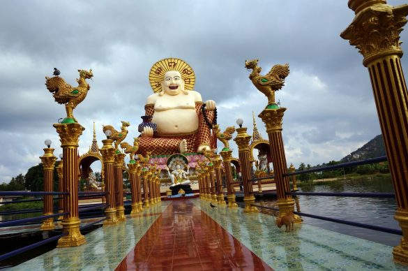 Our Return to Wat Plai Laem