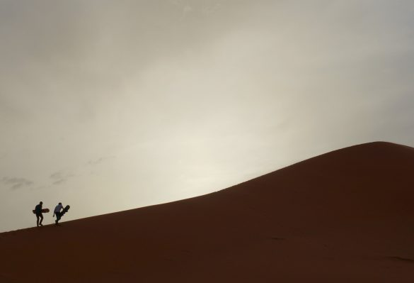 On the Edge of the Sahara