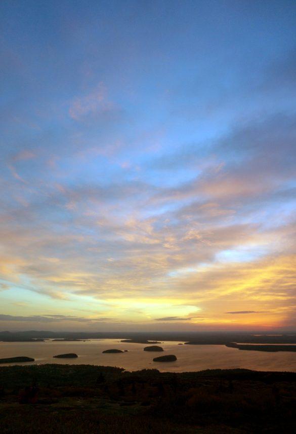 Sunset / Sunrise on Mount Desert Island