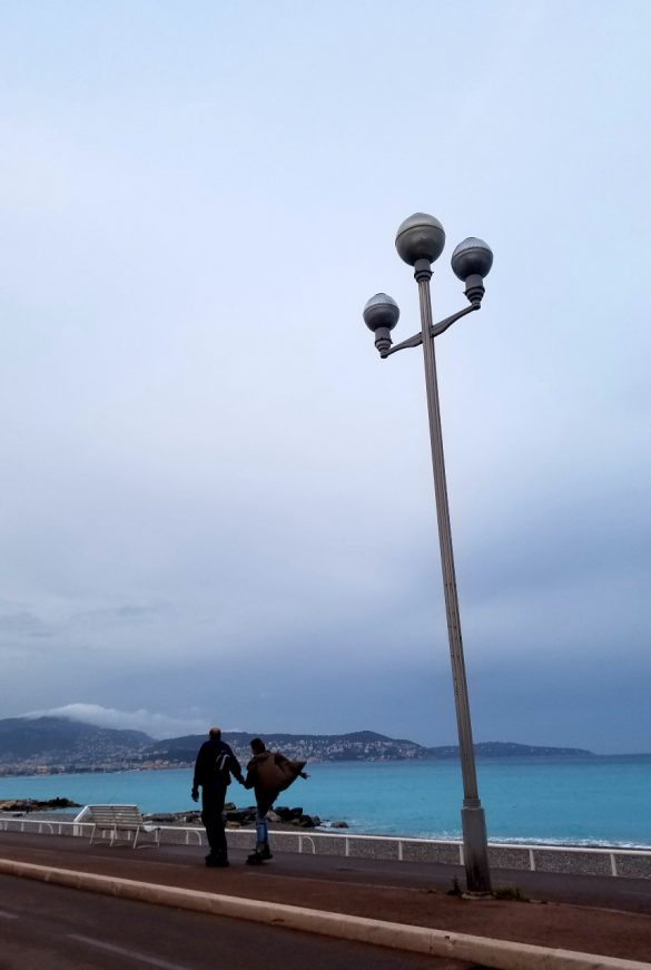 Cloudy Afternoon on the Côte d'Azur