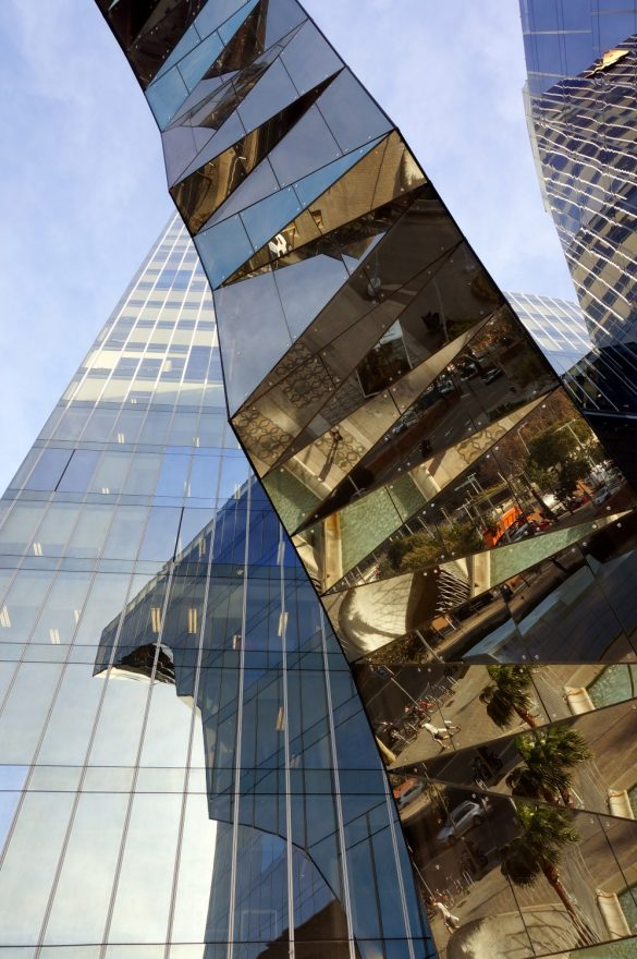 Reflections in Towers and Steel