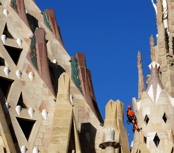 Return to the Basilica and Parc Guell