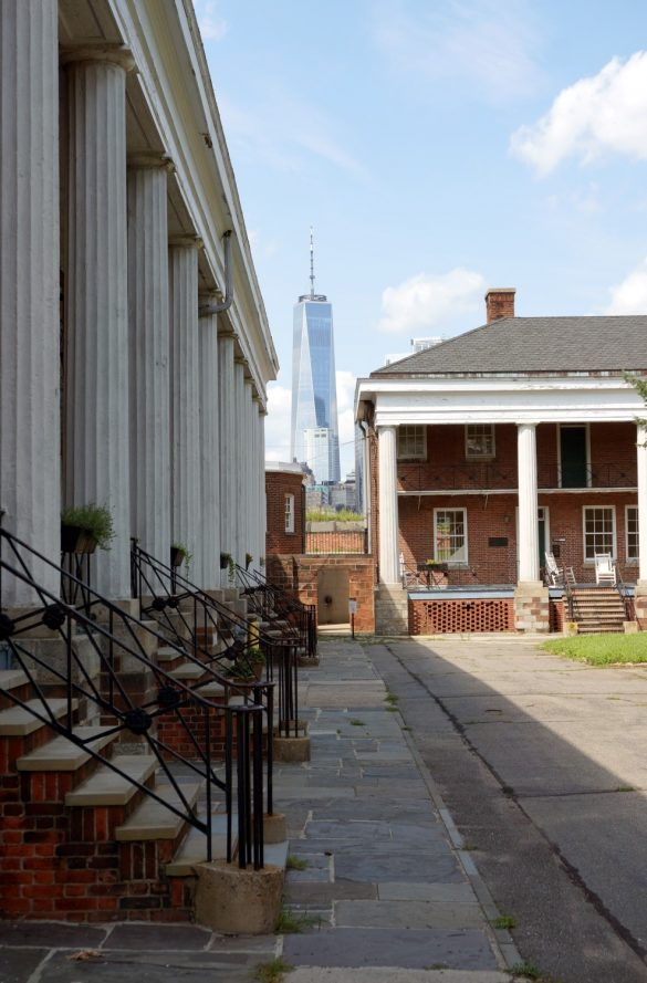 Juxtaposition on Governors Island